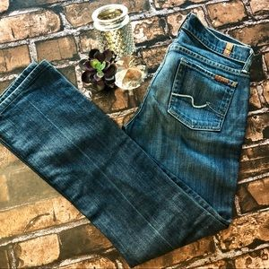 7 For All Mankind Straight Leg Size 26/29
